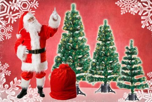 Распродажа искусственных елок